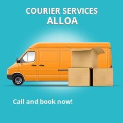 Alloa courier services FK10
