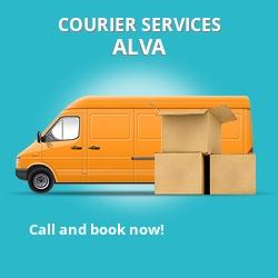 Alva courier services FK12