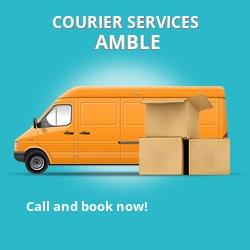 Amble courier services NE65