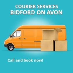 Bidford-on-Avon courier services B50
