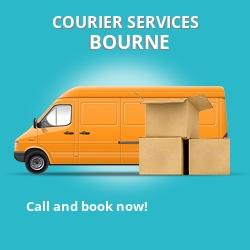 Bourne courier services PE10