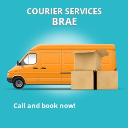 Brae courier services DG2