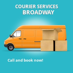 Broadway courier services WR1