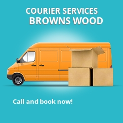 Browns Wood courier services MK7