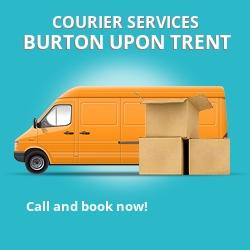 Burton upon Trent courier services DE14
