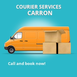 Carron courier services FK2