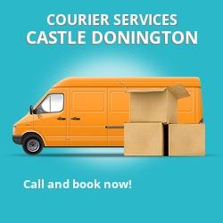 Castle Donington courier services DE74