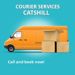 Catshill courier services B61