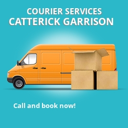 Catterick Garrison courier services DL9