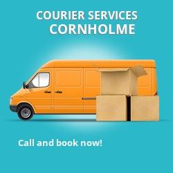Cornholme courier services OL14