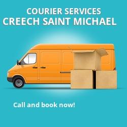 Creech Saint Michael courier services TA1