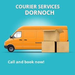 Dornoch courier services IV25