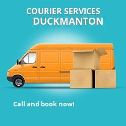 Duckmanton courier services S44