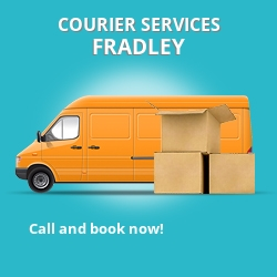 Fradley courier services WS13