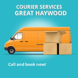 Great Haywood courier services ST18