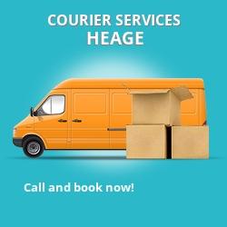 Heage courier services DE56