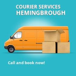 Hemingbrough courier services YO8
