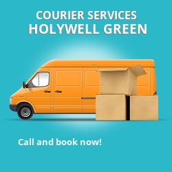 Holywell Green courier services HX4