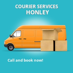 Honley courier services HD9