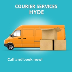 Hyde courier services SK14