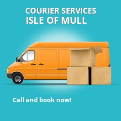 Isle Of Mull courier services PA75