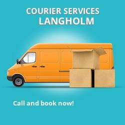 Langholm courier services DG13