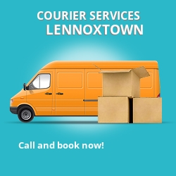Lennoxtown courier services G66