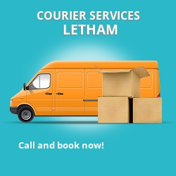 Letham courier services KY15