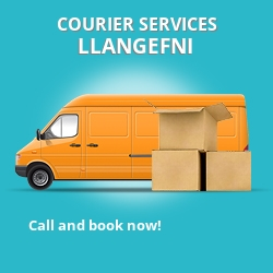 Llangefni courier services LL77