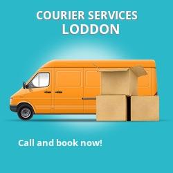 Loddon courier services NR14