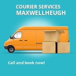 Maxwellheugh courier services TD5
