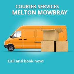 Melton Mowbray courier services LE14