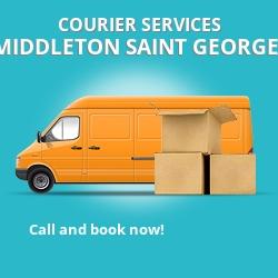 Middleton Saint George courier services DL2