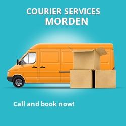 Morden courier services SM4