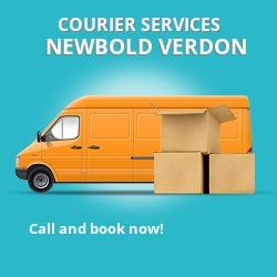 Newbold Verdon courier services LE9
