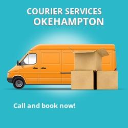 Okehampton courier services EX2