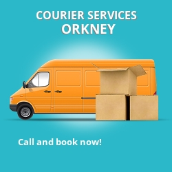 Orkney courier services KW17