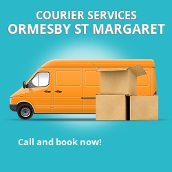 Ormesby St Margaret courier services NR29