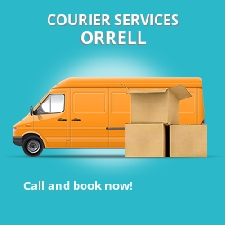 Orrell courier services WN5