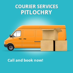 Pitlochry courier services PH17