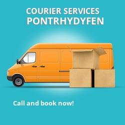 Pontrhydyfen courier services SA12