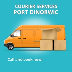 Port Dinorwic courier services LL56