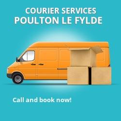 Poulton le Fylde courier services FY6