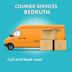 Redruth courier services TR15
