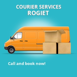 Rogiet courier services NP26