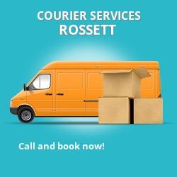 Rossett courier services LL12