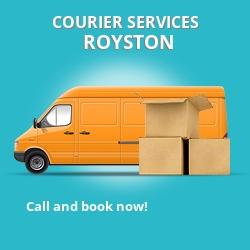 Royston courier services AL7
