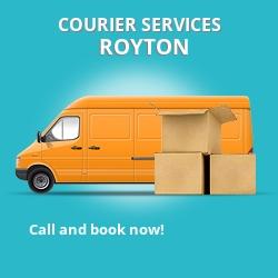 Royton courier services OL2