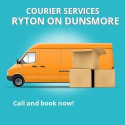 Ryton-on-Dunsmore courier services CV8