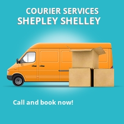 Shepley Shelley courier services HD8